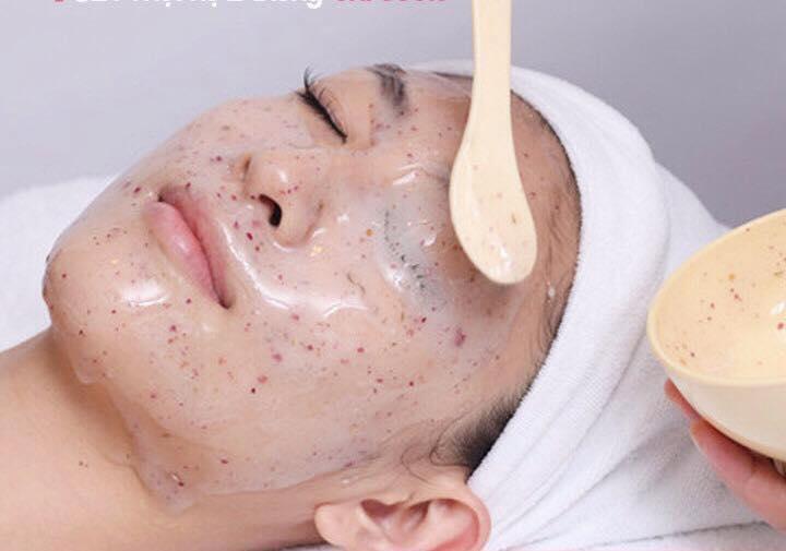 mặt nạ collagen vi cá hồng