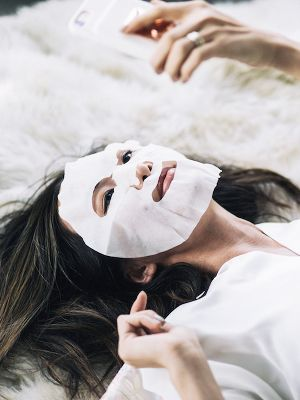 cách đắp mặt nạ collagen