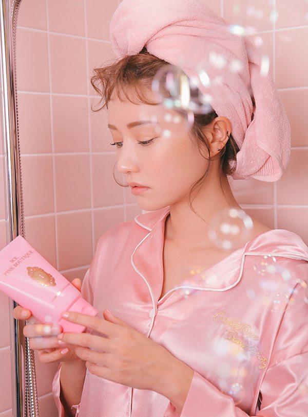 rửa mặt đối với da nhạy cảm