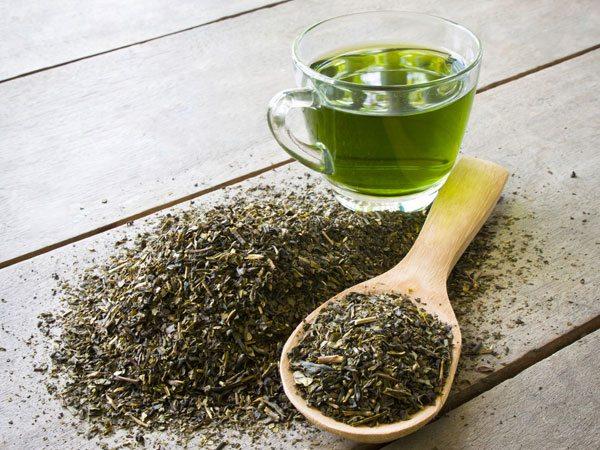 trà xanh trị nám da