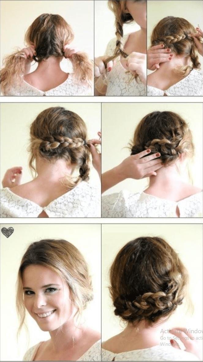 cách búi tóc đẹp