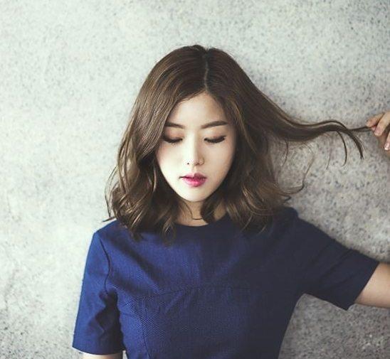 kiểu tóc cho cô nàng mặt dài