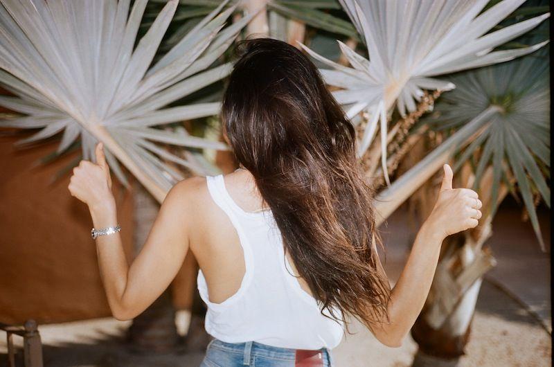 tóc đẹp nhờ serum dưỡng tóc