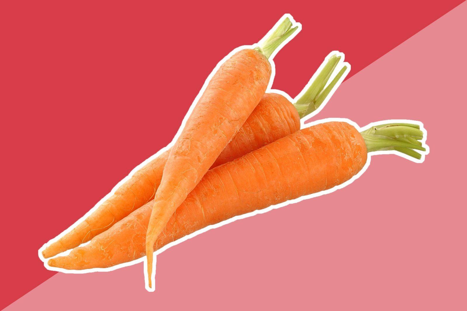 cà rốt làm trắng da