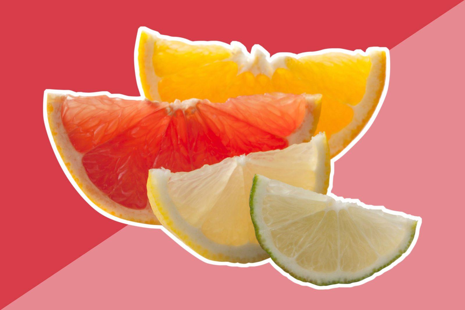 nước cam làm trắng da