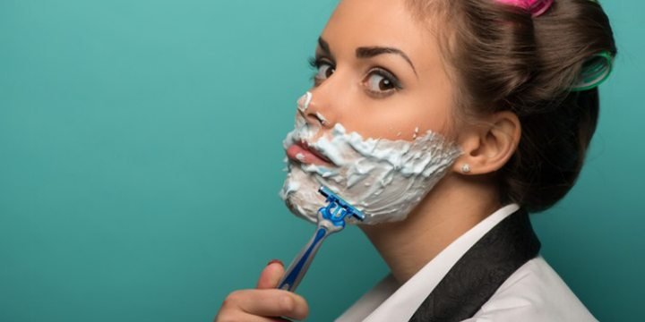 tẩy lông mặt là cần thiết