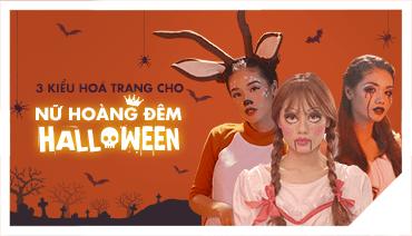 """3 phong cách make-up để thành """"nữ hoàng đêm Halloween"""""""