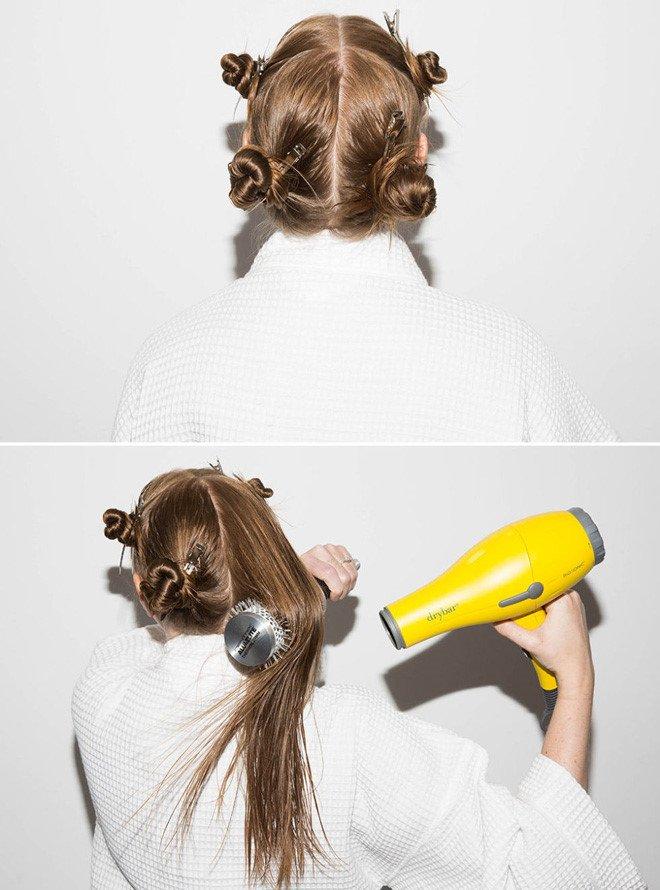 mẹo sấy phồng tóc