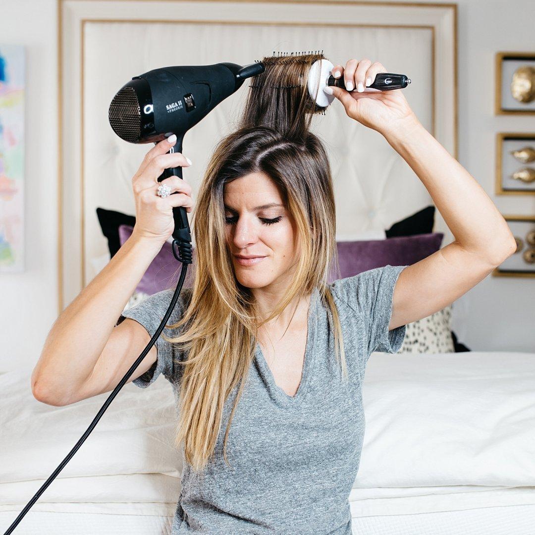 cách giữ nếp tóc
