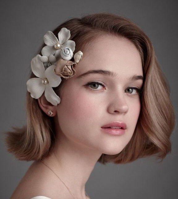 Cô dâu tóc ngắn vẫn thật kiêu sa với 7 kiểu tóc sau