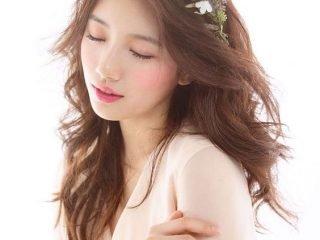 4 Kiểu tóc cô dâu mặt dài thêm sang & quý phái