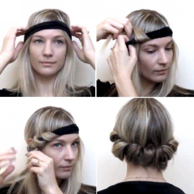 cách làm xoăn tóc dự tiệc