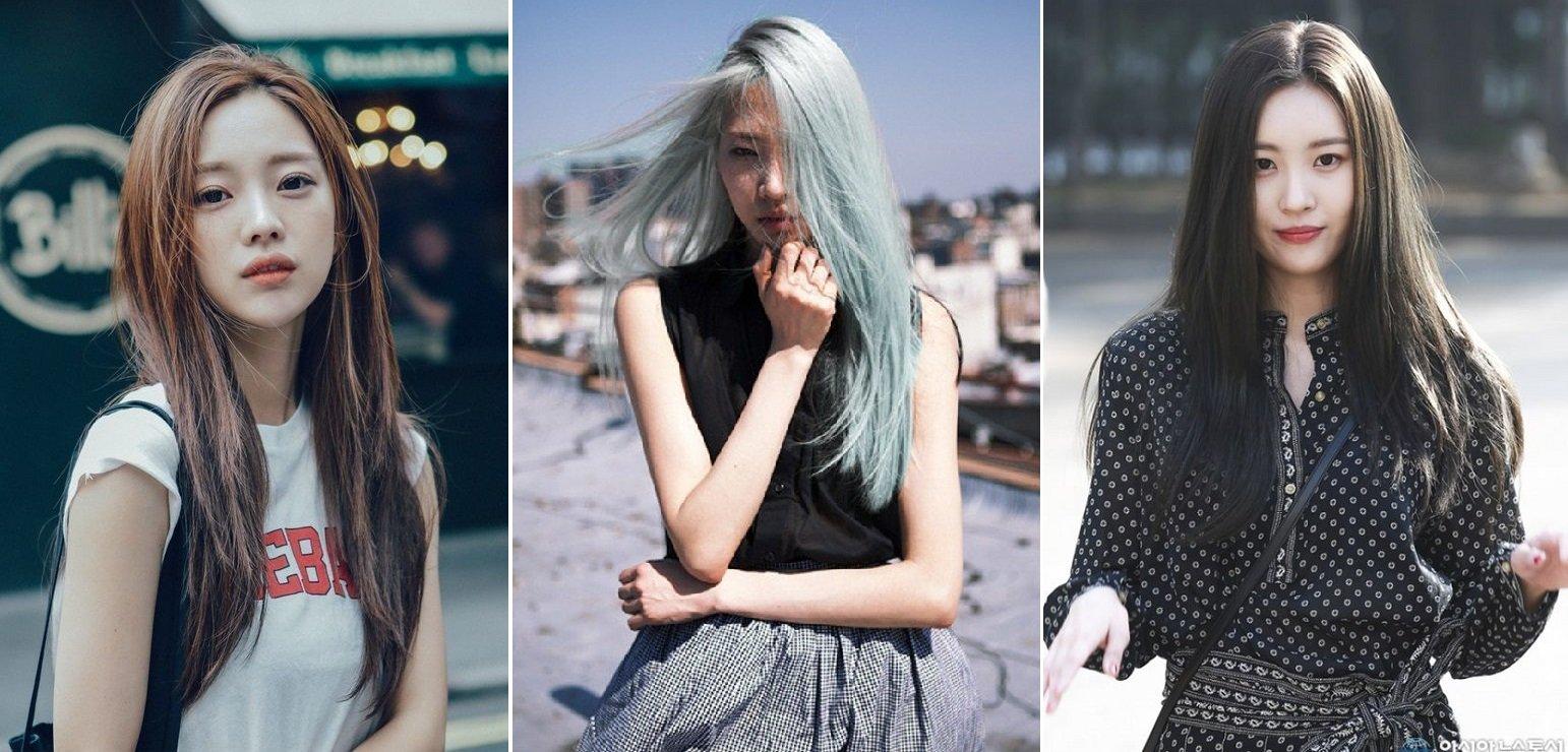 kiểu tóc dài mùa thu