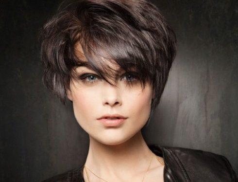 tóc ngắn đẹp cho mặt vuông