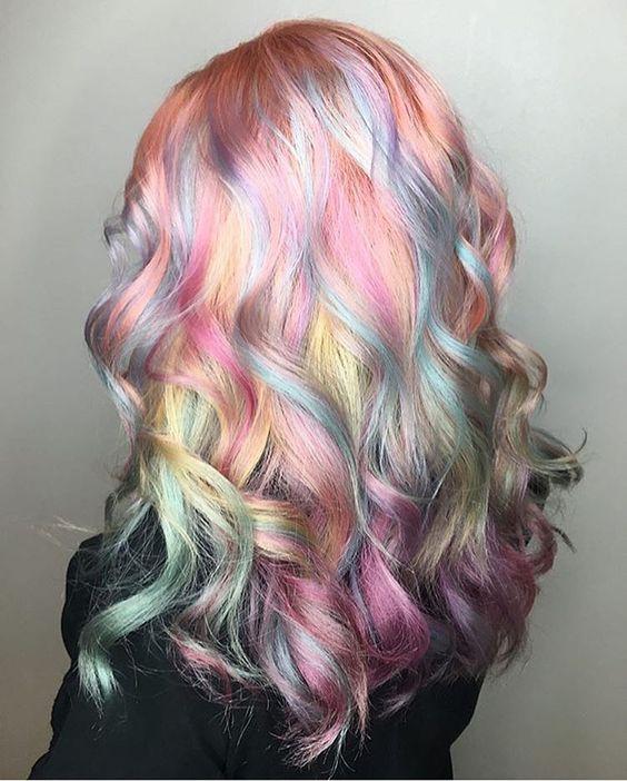 Loại tóc không thể nhuộm tóc màu sáng