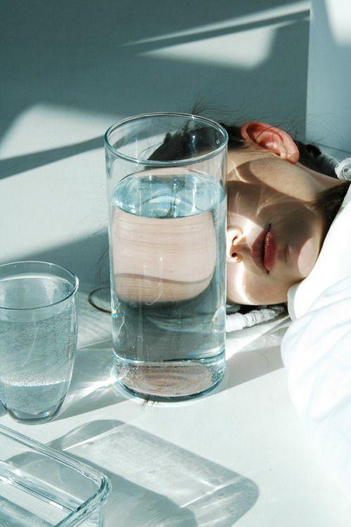cấp nước cho da mụn