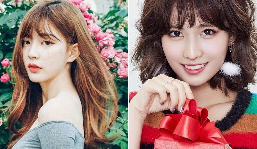 Điểm cộng cho tóc mái kiểu Hàn Quốc