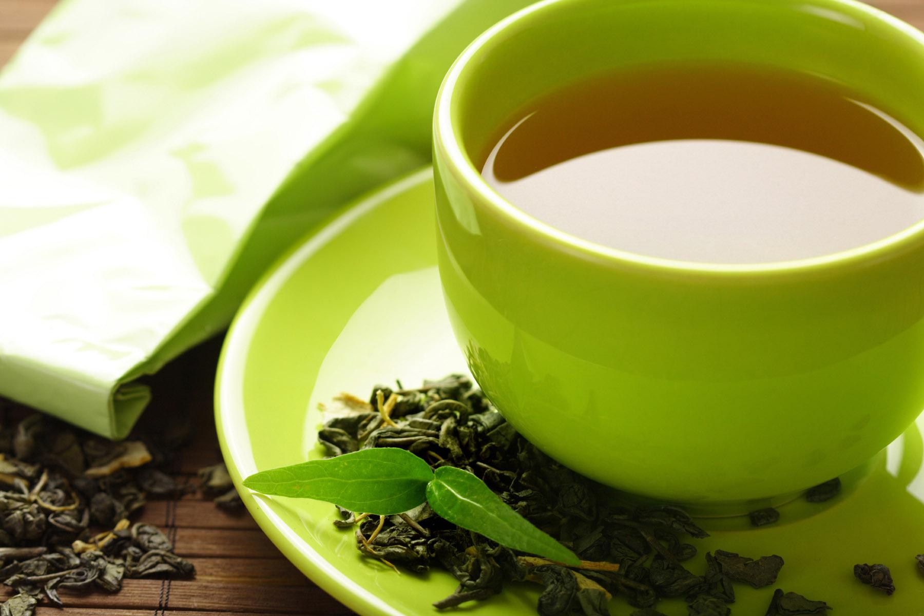 Chống rụng tóc bằng trà xanh