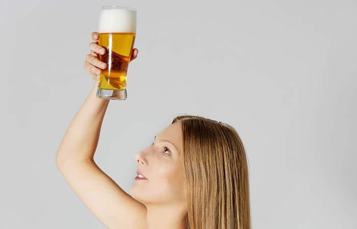 bia giúp phục hồi tóc hư tổn