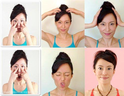 tập yoga cho mặt