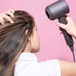 Tóc dày tự nhiên chỉ bằng cách sấy tóc cho từng loại tóc