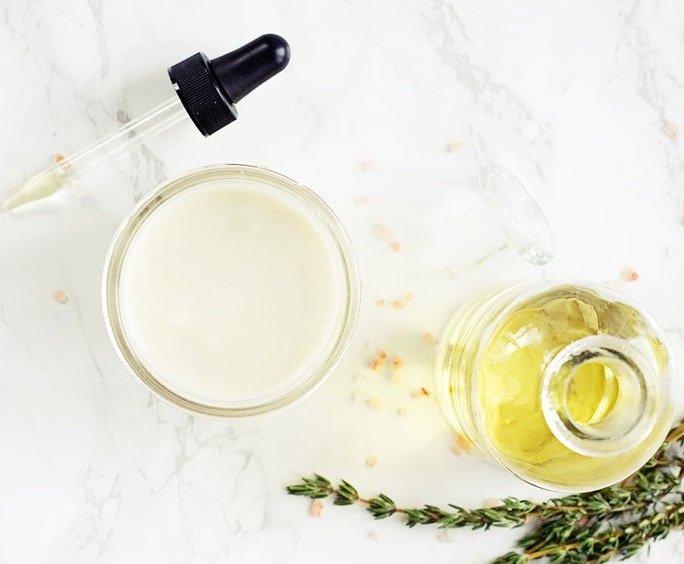 dầu oliu dưỡng tóc