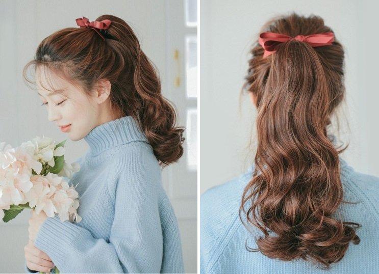 Kiểu cột tóc streetstyle