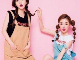 """""""Học lóm"""" Sao Hàn các kiểu cột tóc vi vu ngày xuân"""