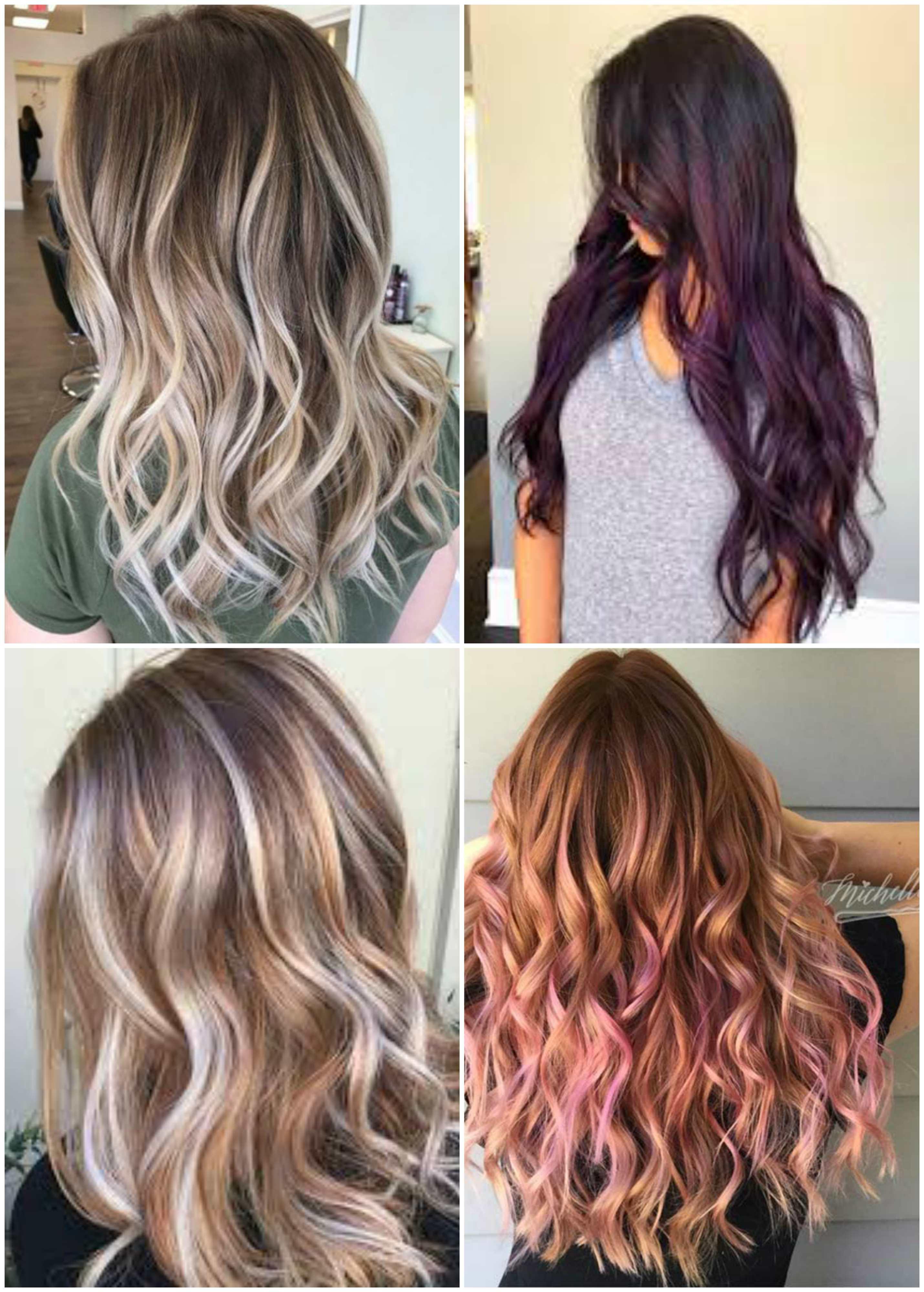 nhuộm tóc highlight