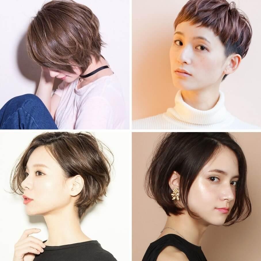 Kiểu tóc ngắn ngang gáy