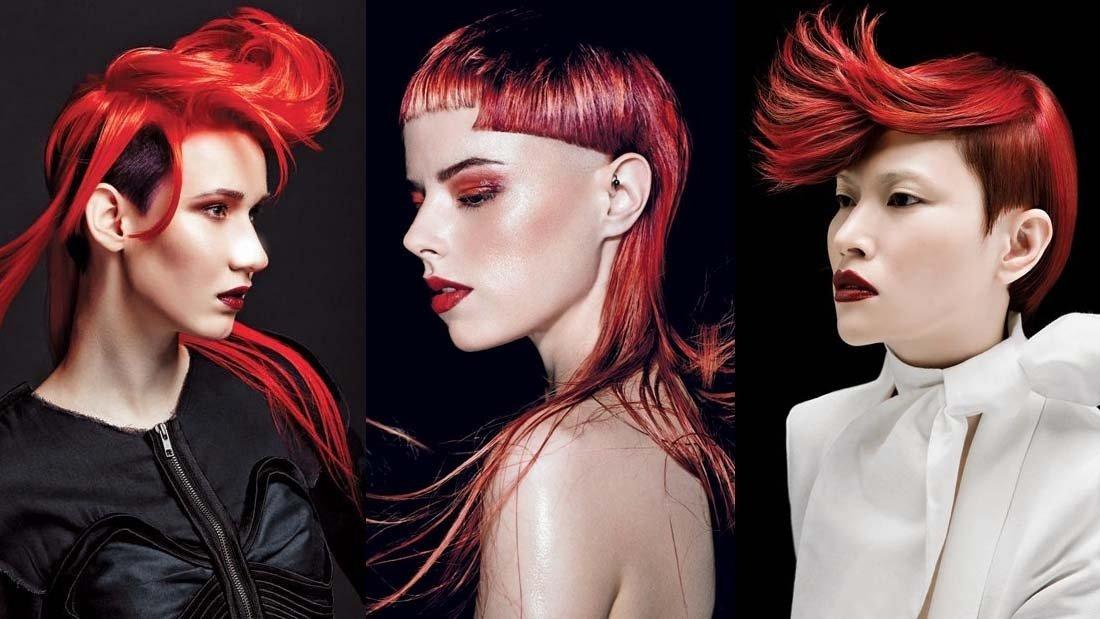 nhuộm tóc đỏ