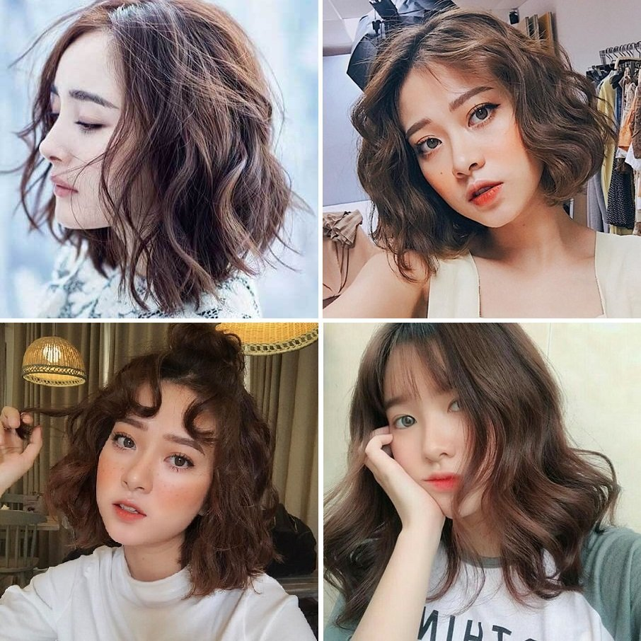 các kiểu tóc hot nhất hiện nay