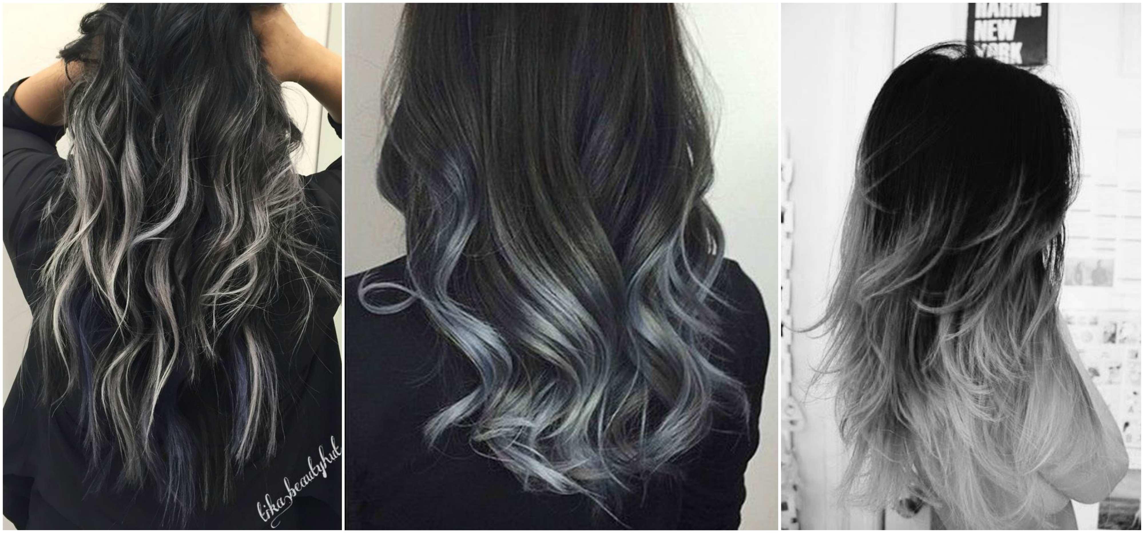 Tóc đen highlight màu gì đẹp