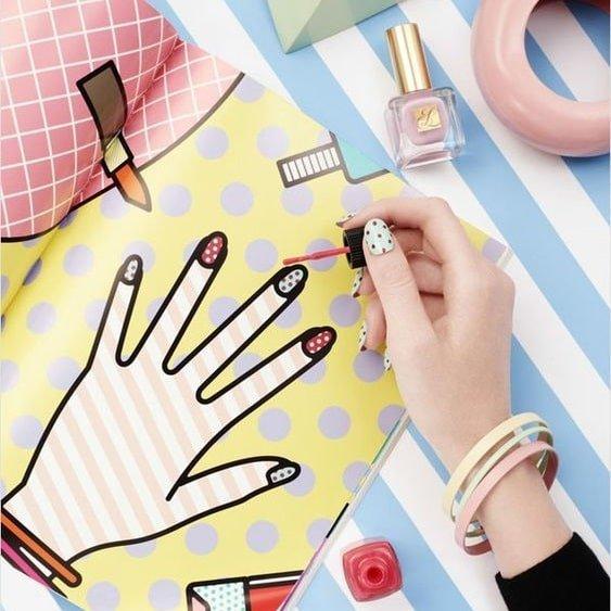 Ngại đi Salon dịp Tết? Tự làm ngay 4 mẫu nail đơn giản nhưng siêu đẹp này!