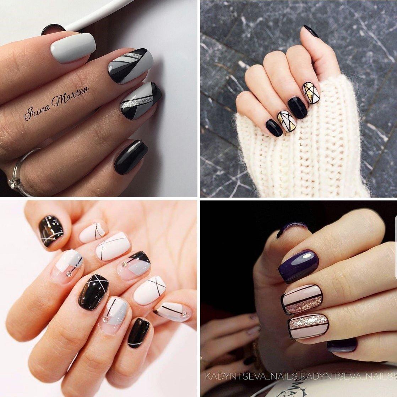 những mẫu nail đẹp đơn giản