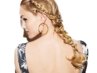 """Tóc buộc kết hợp tóc tết – """"Song kiếm hợp bích"""" cho ngày xuân thêm rạng rỡ"""
