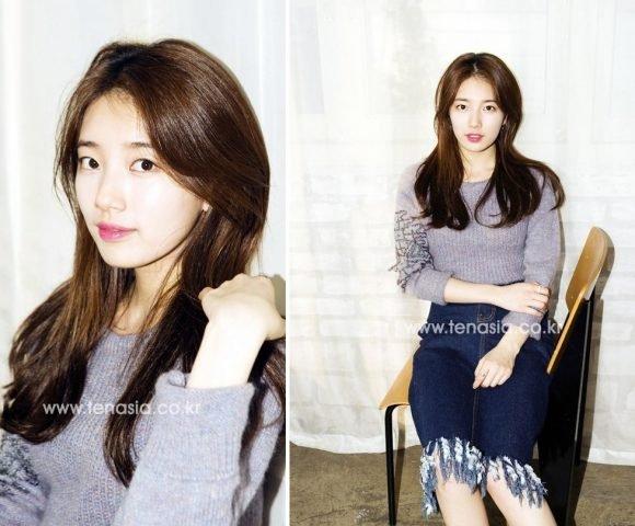 """Tóc dài thẳng không mái – Kiểu tóc đẹp """"trường tồn"""" với K-Idol nữ"""