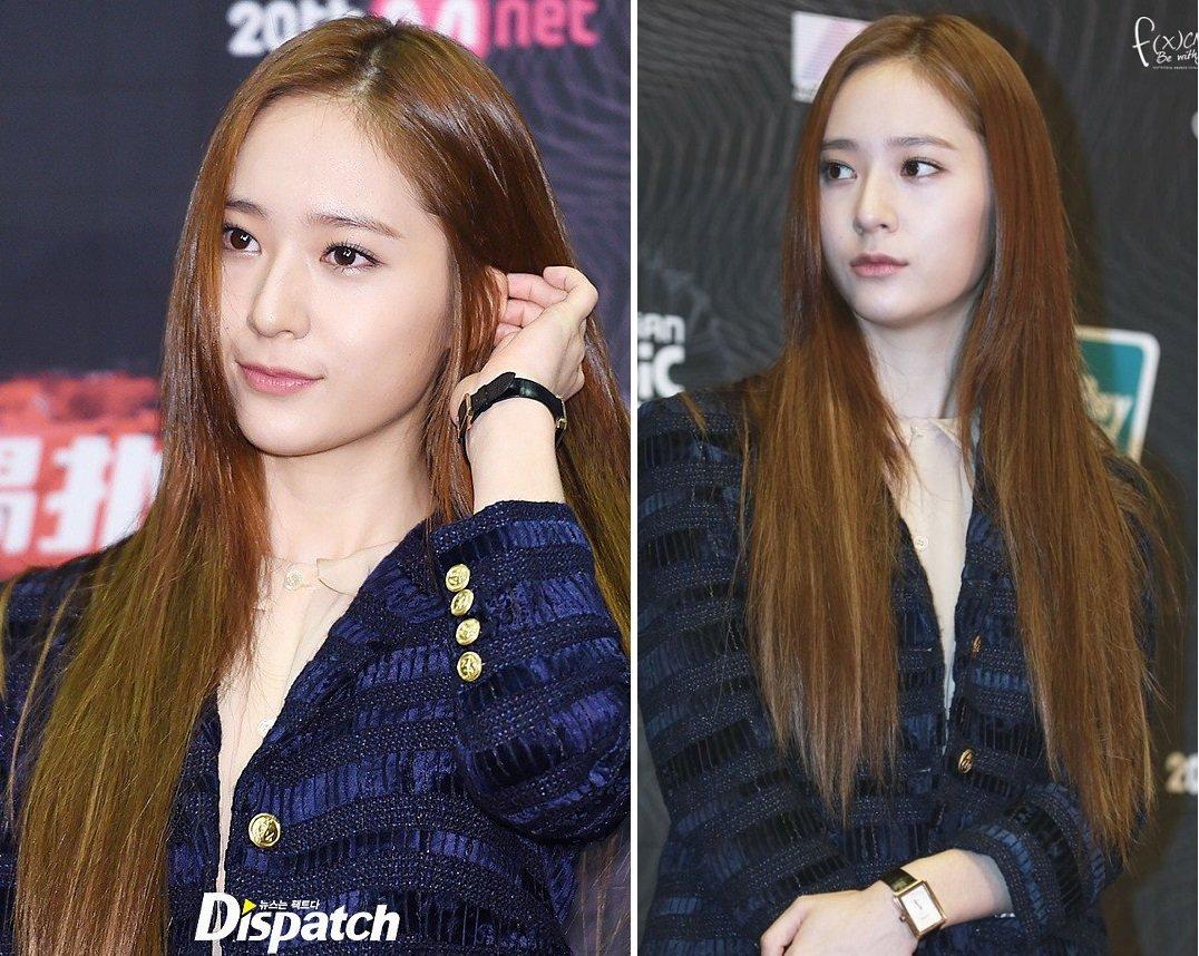kiểu tóc dài thẳng không mái