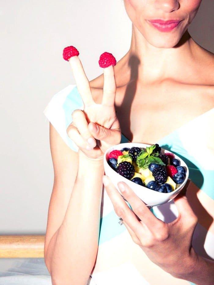 làn da hoàn hảo nhờ rau xanh