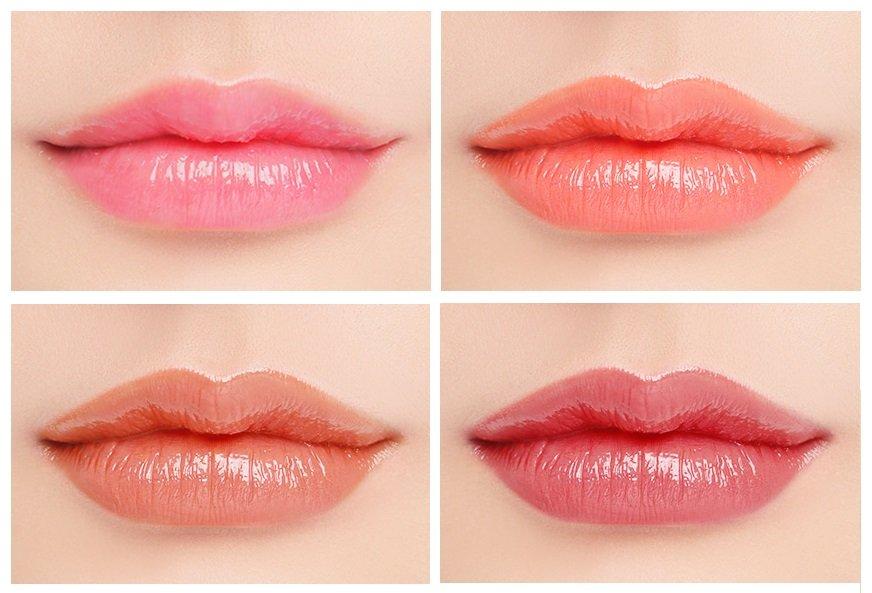 Đôi môi căng mọng