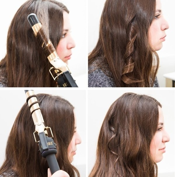 cách làm tóc uốn sóng nước