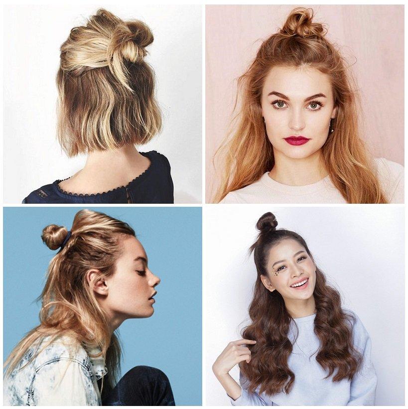 các kiểu tóc đẹp dễ làm