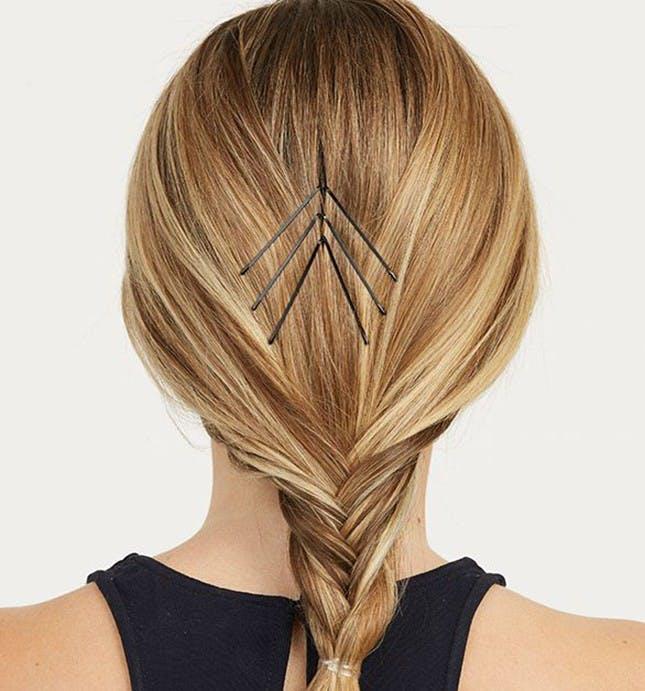 làm điệu tóc với kẹp tăm
