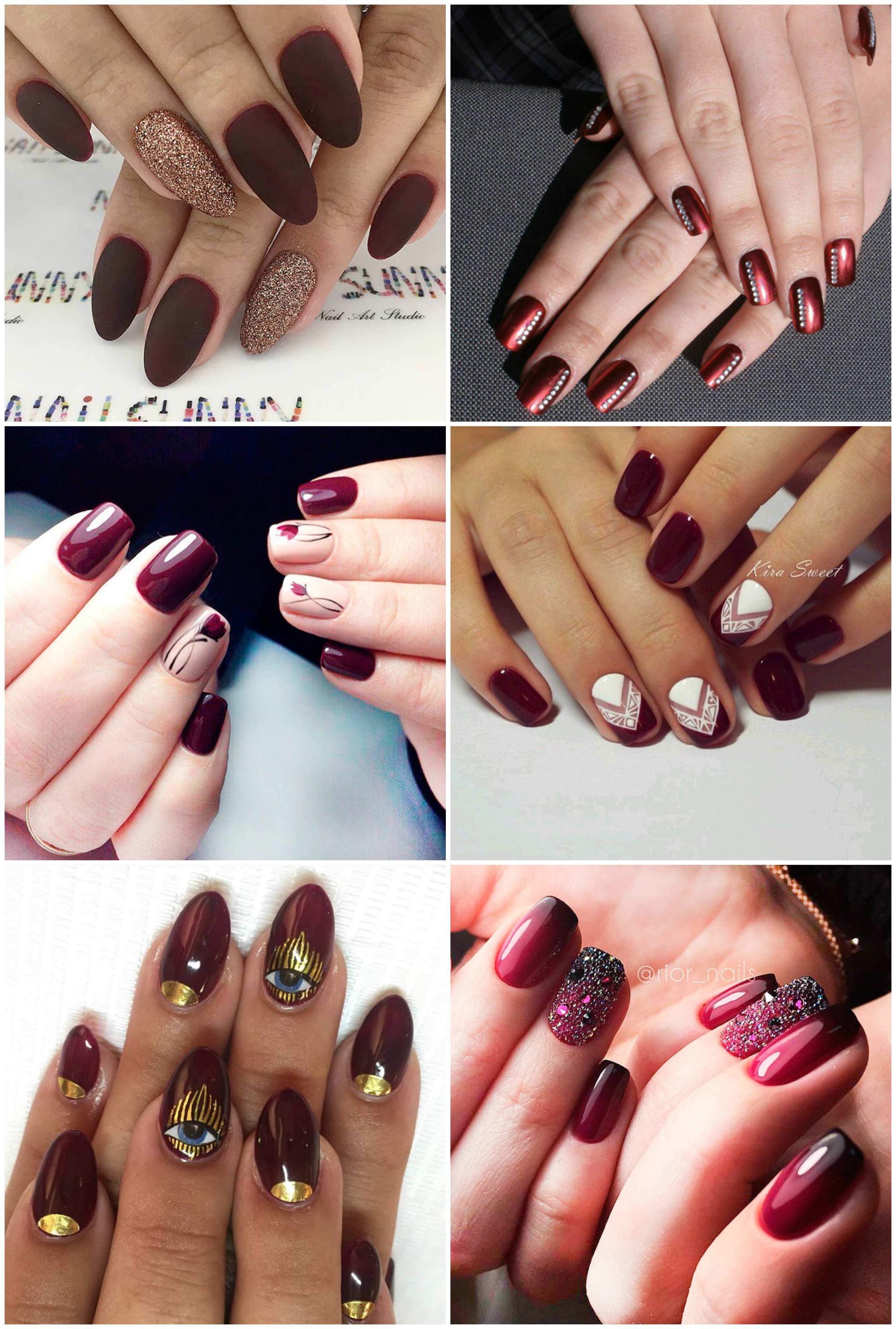 nail màu đỏ