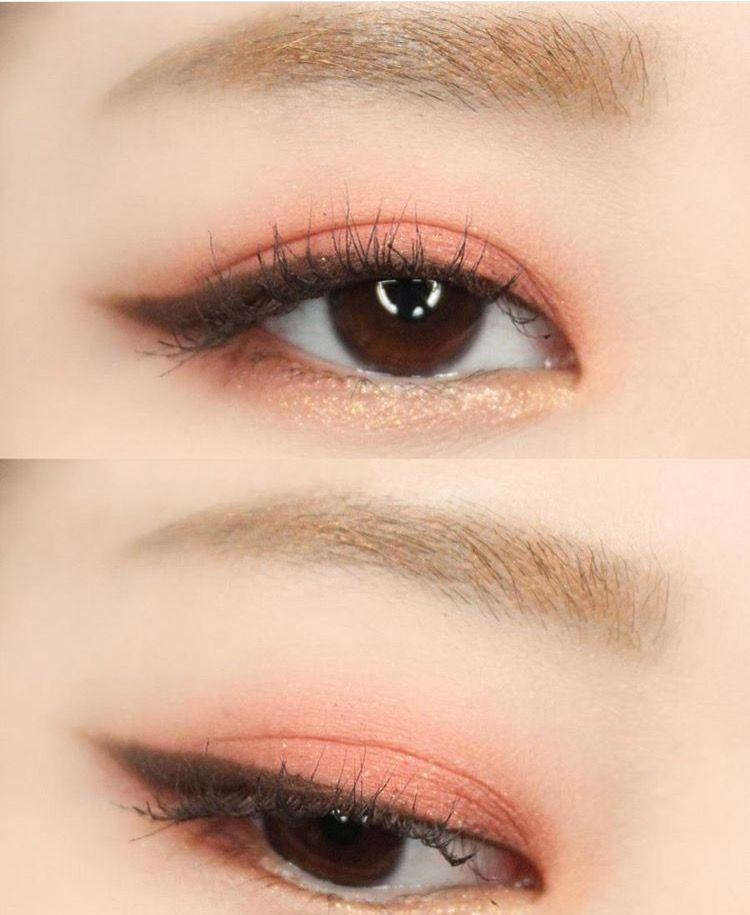 Phối màu mắt đẹp với phấn nhũ