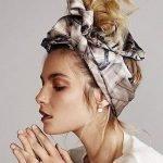 4 cách biến tấu đơn giản với khăn turban cho mái tóc thêm xinh