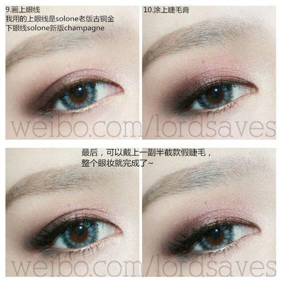 Cách đánh mắt hồng