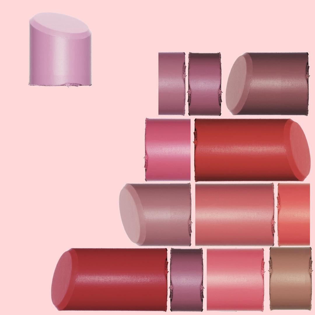 Cách mix để tạo màu son hồng tím cực đơn giản cho bạn gái