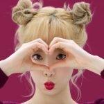 Học ngay sao Hàn kiểu búi tóc 2 bên cực dễ thương F5 ngày thứ 2 buồn chán
