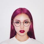Nhuộm tóc màu tím – Nàng thơ mới năm 2019!